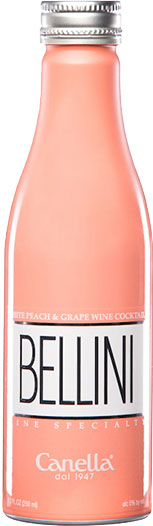 Canella  Bellini Cocktail 20cl Bottle