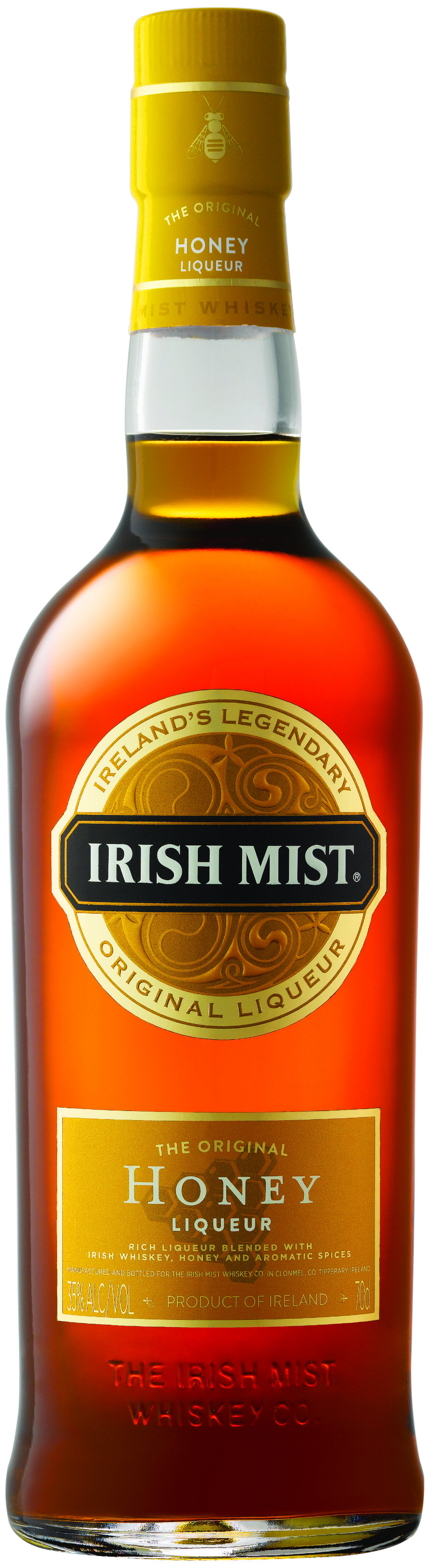 Irish Mist - Honey Liqueur 70cl Bottle