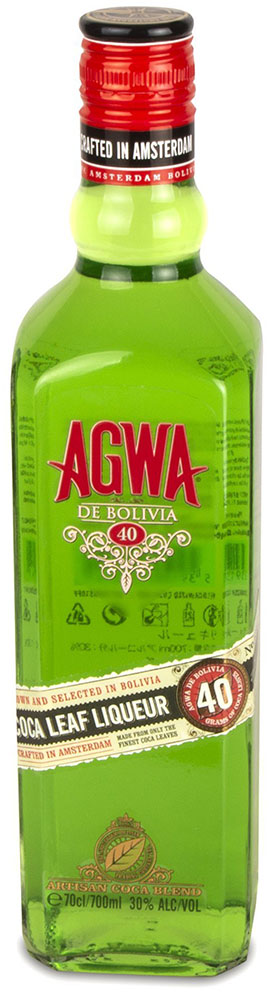 Agwa - de Bolivia Coca Leaf Liqueur 70cl Bottle
