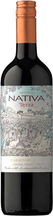 Nativa - Organic Carmenere 2015 12x 75cl Bottles at The Drink Shop