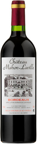 Jean-Christophe Barbe - Chateau Mahon-Laville Bordeaux Superieur 2016 12x 75cl Bottles