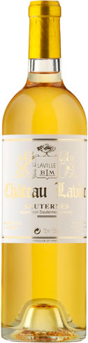 Jean-Christophe Barbe - Chateau Laville Sauternes 2015 37.5cl Bottle
