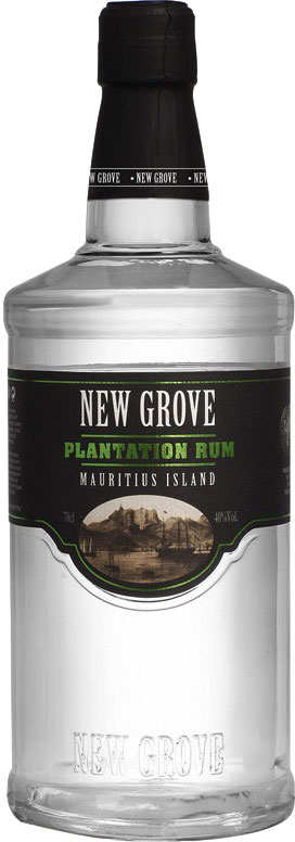 New Grove - Plantation White Rum 70cl Bottle