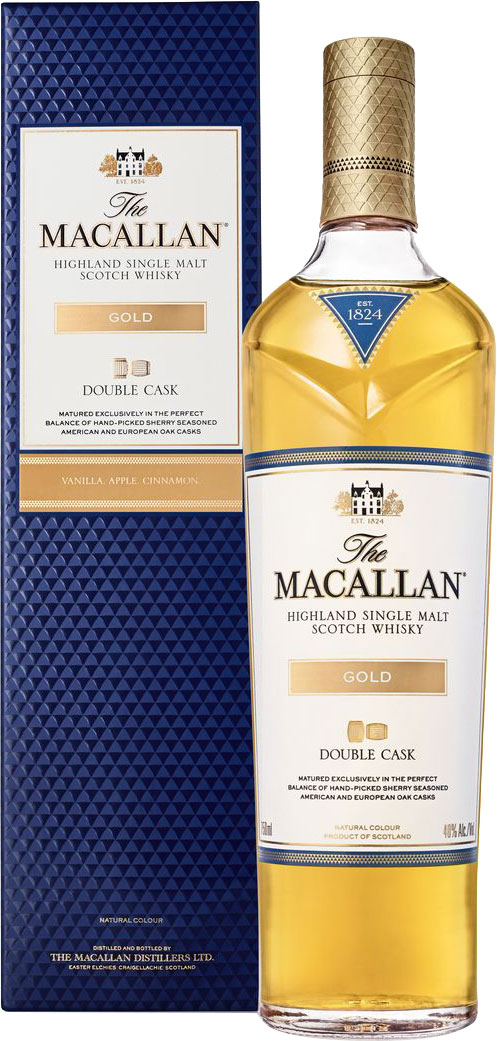 Macallan - Double Cask Gold 70cl Bottle