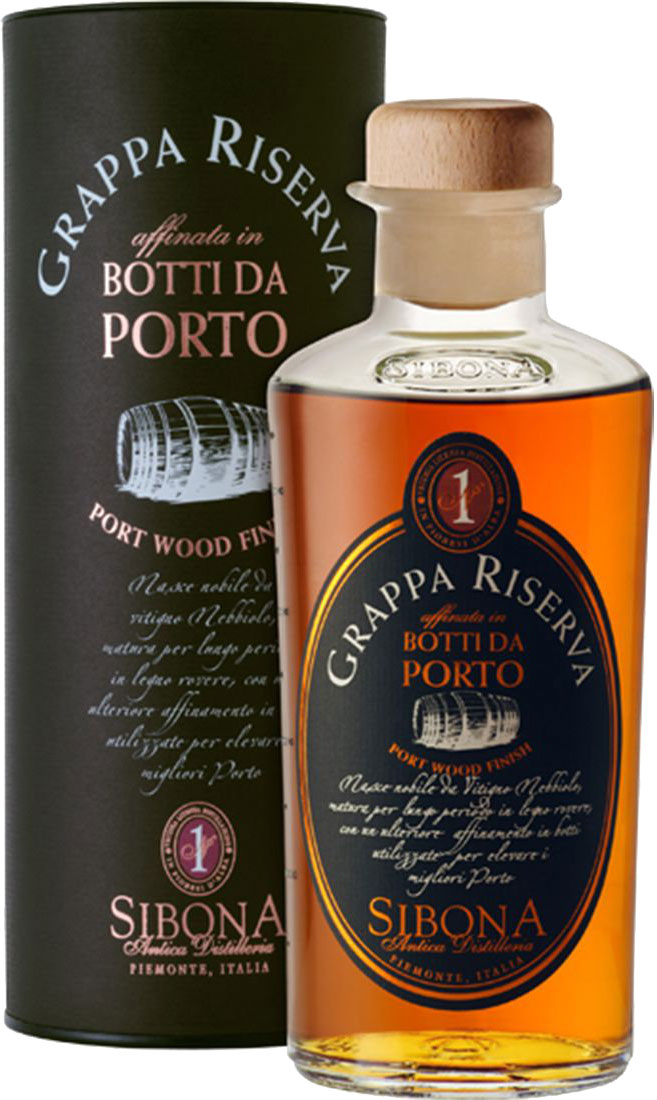 Sibona - Grappa Reserve Port Wood Finish 50cl Bottle