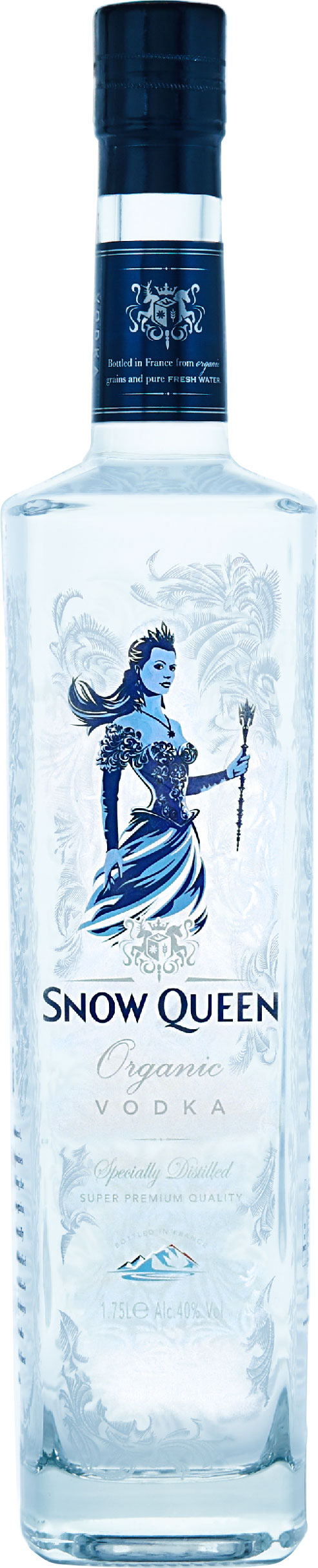 Snow Queen Vodka 1.75 Litre Bottle
