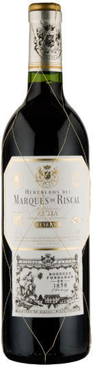 Marques de Riscal - Rioja Reserva 2012 75cl Bottle