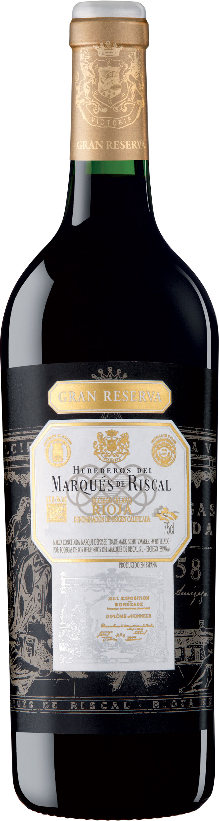 Marques de Riscal - Rioja Gran Reserva 2011 75cl Bottle