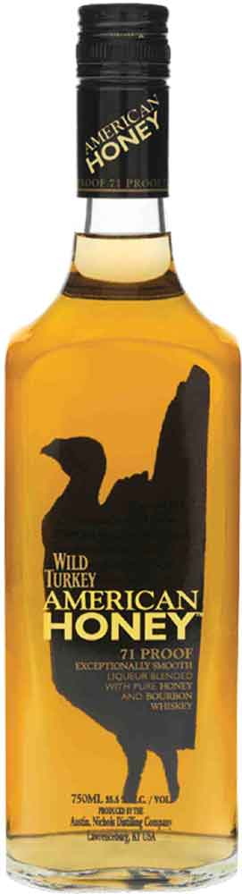 Wild Turkey - American Honey Liqueur 70cl Bottle