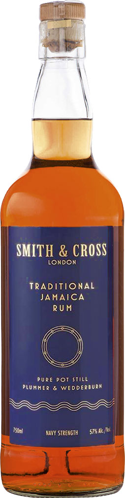 Smith & Cross London - Traditional Jamaica Rum 70cl Bottle