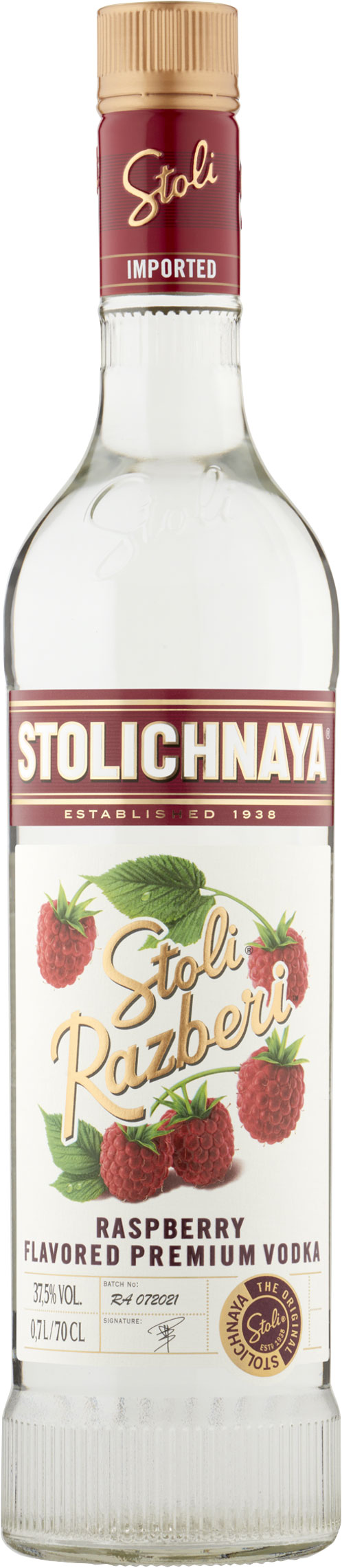 Stolichnaya - Razberi 70cl Bottle